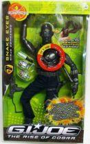 G.I.JOE 2009 - Snake Eyes (Ninja Commando) Electronique 30cm