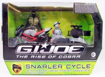 G.I.JOE 2009 - Snarler Cycle with Beachhead & Rollbar