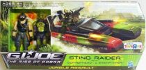 G.I.JOE 2009 - Sting Raider with Copperhead & Swamp-Viper