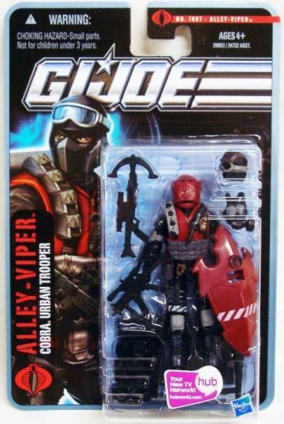 G.I.JOE 2010 - #1007 Alley-Viper (Cobra Urban Trooper)