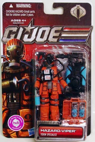 G.I.JOE 2011 - 30 Years series - Hazard-Viper (Toxin Specialist)