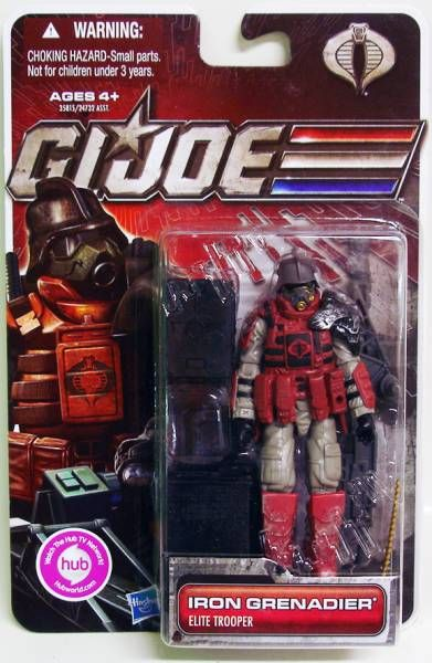 G.I.JOE 2011 - 30 Years series - Iron Grenadier (Elite Trooper)