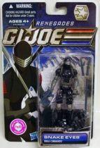 G.I.JOE 2011 - 30 Years series - Snake Eyes \'\'Renegades\'\' (Ninja Commando)
