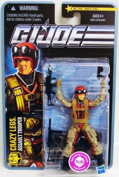 G.I.JOE 2011 - n°1116 Crazylegs (Assault Trooper)