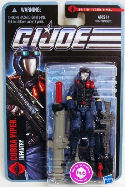 G.I.JOE 2011 - n°1119 Cobra Viper (Infantry)