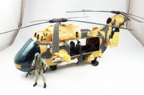 G.I.JOE 2013 - Eaglehawk Helicopter with Lift-Ticket (loose)