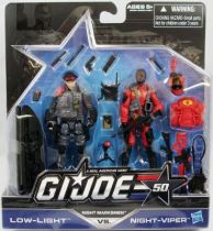 G.I.JOE 50th - 2014 - Night Marksmen  Low-Light & Night-Viper