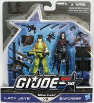 G.I.JOE 50th - 2014 - Social Clash  Lady Jaye & Baroness