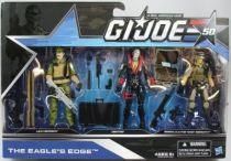 G.I.JOE 50th - 2014 - The Eagle\'s Edge  Leatherneck, Destro, Hawk