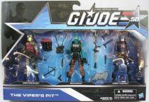 G.I.JOE 50th - 2014 - The Viper\'s Pit  Cobra Viper Officer, Beachhead, Cobra Trooper