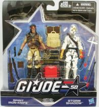 G.I.JOE 50th - 2015 - Classic Clash  Spirit Iron-Knife & Storm Shadow