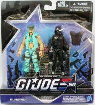 G.I.JOE 50th - 2015 - Marine Devastation  Gung-Ho & Cobra Shadow Guard