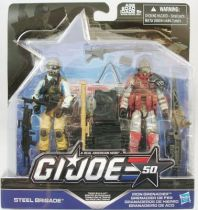 G.I.JOE 50th - 2015 - Troop Build-up  Steel Brigade & Iron Grenadier