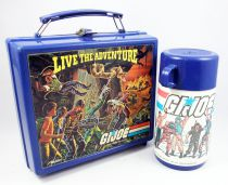 "G.I.Joe A Real American Hero - Aladdin Industries Inc. - Lunch Box & Thermos ""Live the Adventure\"""