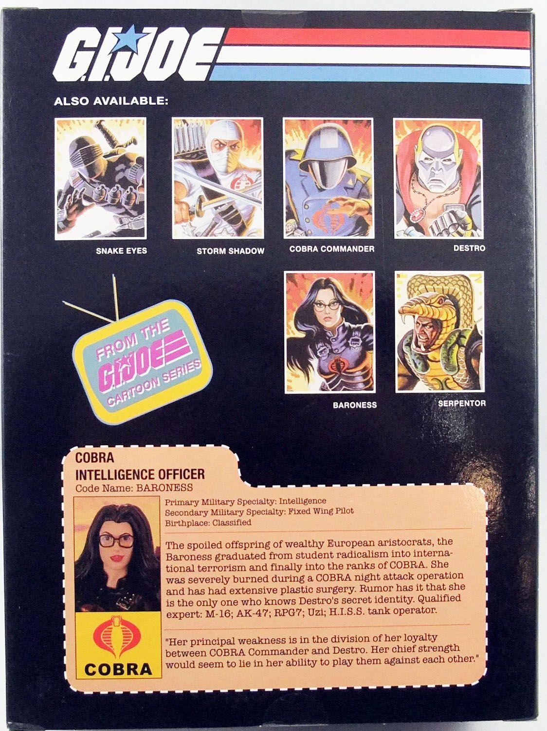 "G.I.Joe A Real American Hero - Sunbow TV Series Baroness 9\"" PVC Statue"