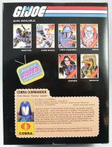 "G.I.Joe A Real American Hero - Sunbow TV Series Cobra Commander 9\"" PVC Statue"