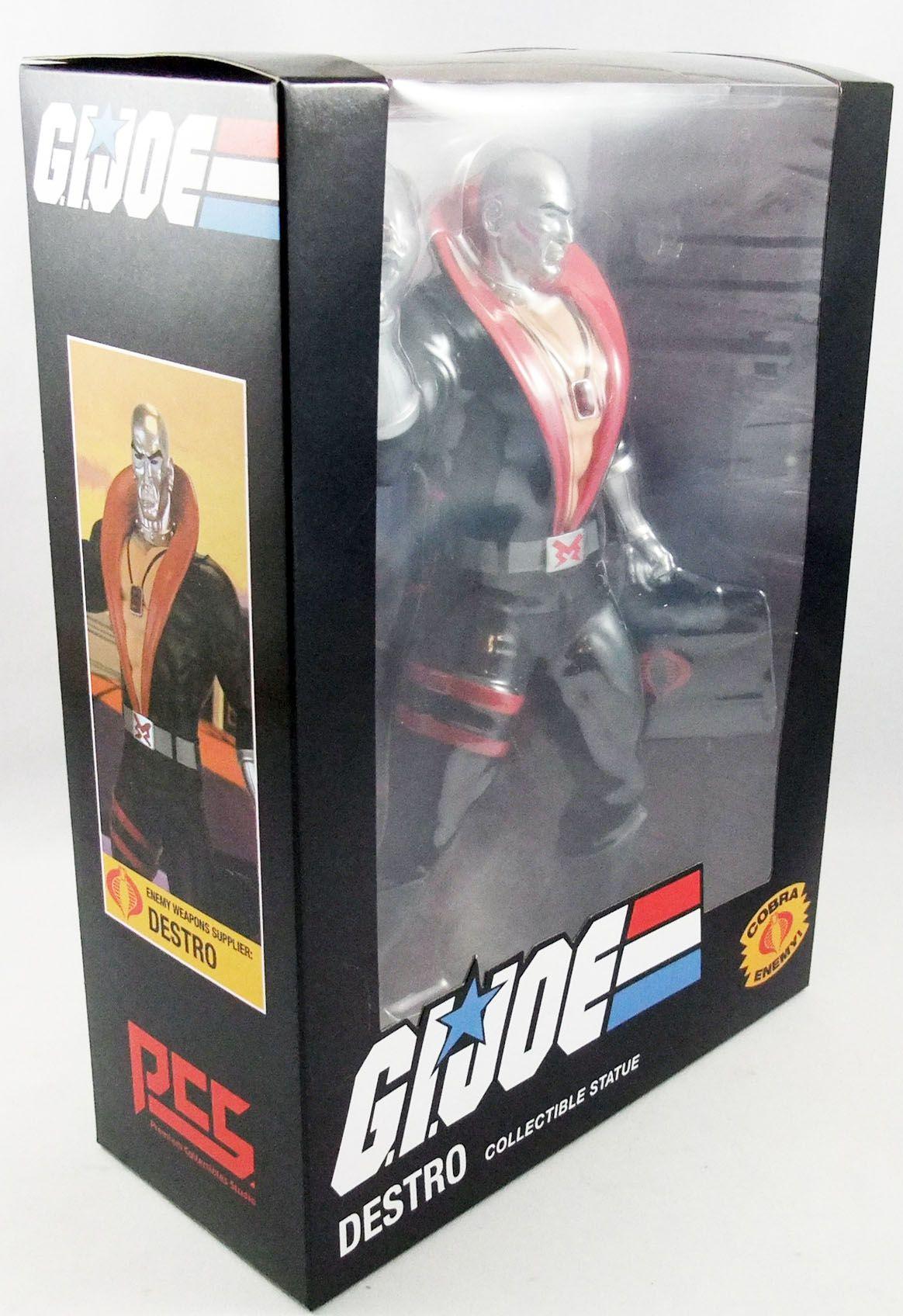 "G.I.Joe A Real American Hero - Sunbow TV Series Destro 9\"" PVC Statue"