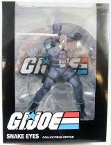 "G.I.Joe A Real American Hero - Sunbow TV Series Snake Eyes 9\"" PVC Statue"