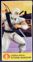 "G.I.Joe A Real American Hero - Sunbow TV Series Storm Shadow 9\"" PVC Statue"