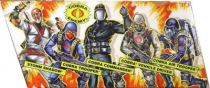 G.I.JOE ARAH 25th Anniversary - 2007 - Battle Pack - Cobra Legions