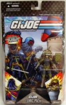 G.I.JOE ARAH 25th Anniversary - 2008 - Comic Pack - Cobra Commander & Tripwire : \'\'Explosive Thoughts\'\'