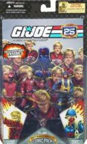 G.I.JOE ARAH 25th Anniversary - 2008 - Comic Pack - Crimson Guard & Scarred Cobra Officer : \'\'One day in Springfield\'\'