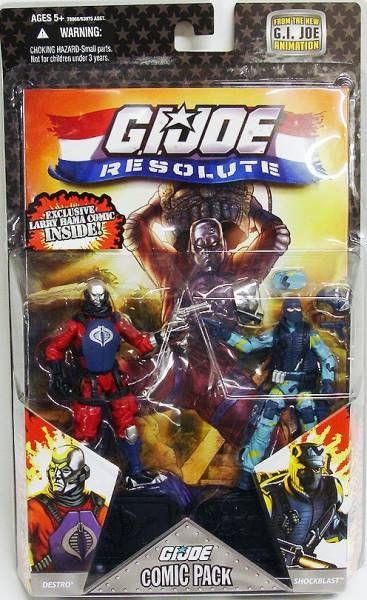 G.I.JOE ARAH 25th Anniversary - 2008 - Comic Pack - Destro & Shockblast : \'\'Sicilian Defense\'\'