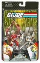 G.I.JOE ARAH 25th Anniversary - 2008 - Comic Pack - Hard Master & Snake Eyes : \'\'The tiger and the teapot\'\'