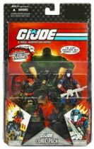 G.I.JOE ARAH 25th Anniversary - 2008 - Comic Pack - Iron Grenadier & Cobra Viper : \'\'Not fade away!\'\'