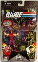 G.I.JOE ARAH 25th Anniversary - 2008 - Comic Pack - Nemesis Immortal & Lt. Falcon : \'\'Showdown at the top of the world\'\'