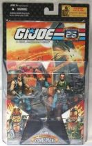 G.I.JOE ARAH 25th Anniversary - 2008 - Comic Pack - Torch & Ripper : \'\'Darkness\'\'