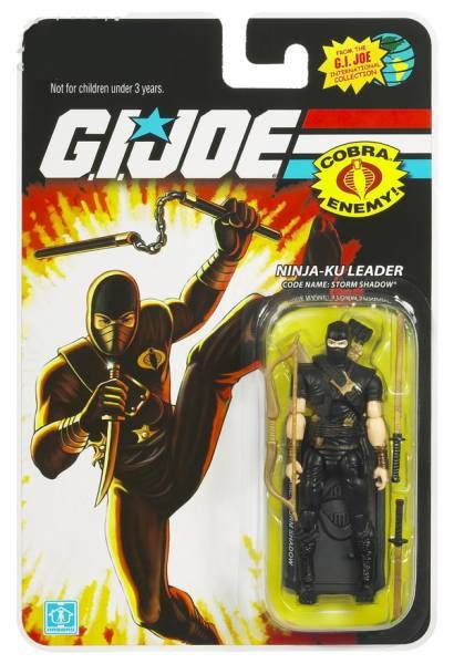 G.I.JOE ARAH 25th Anniversary - 2008 - Storm Shadow (Ninja-Ku)