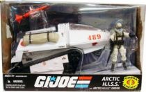 G.I.JOE ARAH 25th Anniversary - 2009 - Cobra Arctic HISS & Arctic HISS Driver (loose with box)