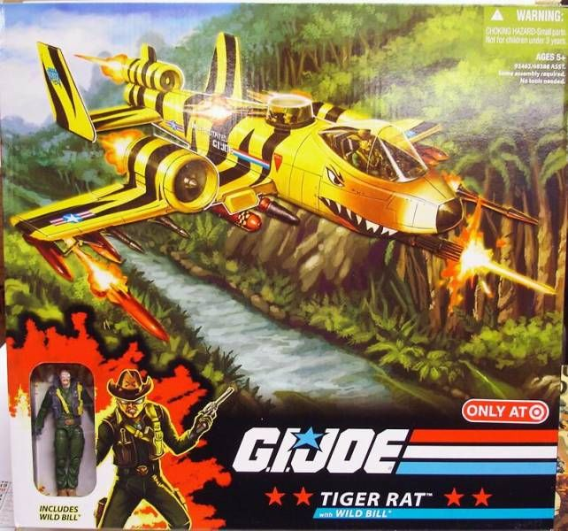 G.I.JOE ARAH 25th Anniversary - 2009 - Tiger Rat & Wild Bill