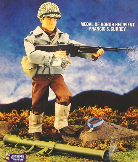 G.I.JOE Classic Collection - Francis S. Currey - Medal of Honor Recipient