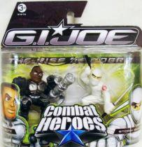 G.I.Joe Combat Heroes - The Rise of Cobra - Heavy Duty & Storm Shadow