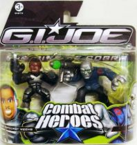 G.I.Joe Combat Heroes - The Rise of Cobra - Ripcord & Destro