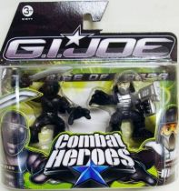 G.I.Joe Combat Heroes - The Rise of Cobra - Snake Eyes & Neo-Viper