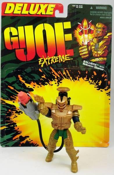 G.I.Joe Extreme - Série complete des Action-Figures - Kenner