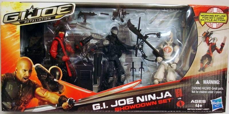 G.I.JOE Retaliation 2013 - G.I.Joe Ninja Showdown : Snake Eyes, Red Ninja, Storm Shadow