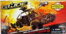 G.I.JOE Retaliation 2013 - Ninja Commando 4X4 avec Snake Eyes