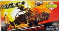 G.I.JOE Retaliation 2013 - Ninja Commando 4X4 avec Snake Eyes