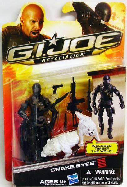 G.I.JOE Retaliation 2013 - Snake Eyes (avec Timber)