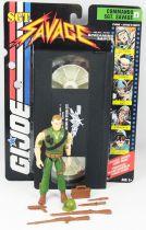 G.I.JOE Sgt. Savage & his Screaming Eagles - Commando Sgt. Savage avec cassette VHS