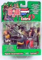 G.I.Joe vs. Cobra - 2002 - Agent Scarlett & Zartan
