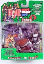 G.I.Joe vs. Cobra - 2002 - Nunchuk & Firefly