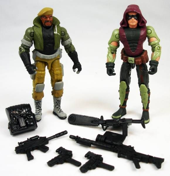 G.I.Joe vs. Cobra - 2002 - Sgt. Stalker & Zartan (loose)