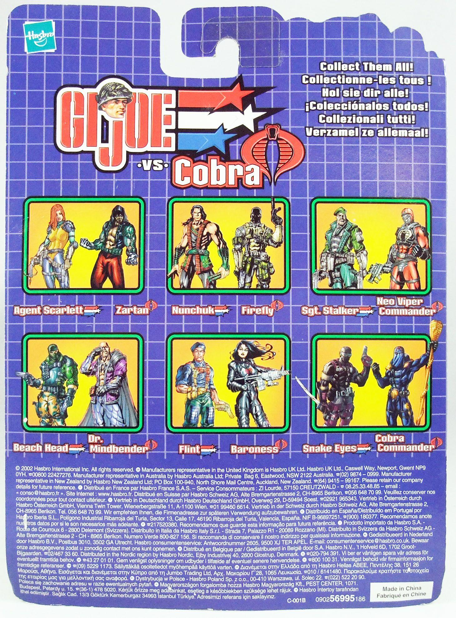 G.I.Joe vs. Cobra - 2002 - Snake Eyes & Cobra Commander