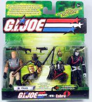 G.I.Joe vs. Cobra - 2004 - Duke & Cobra Commander