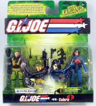 G.I.Joe vs. Cobra - 2004 - Hard Drive & Baroness